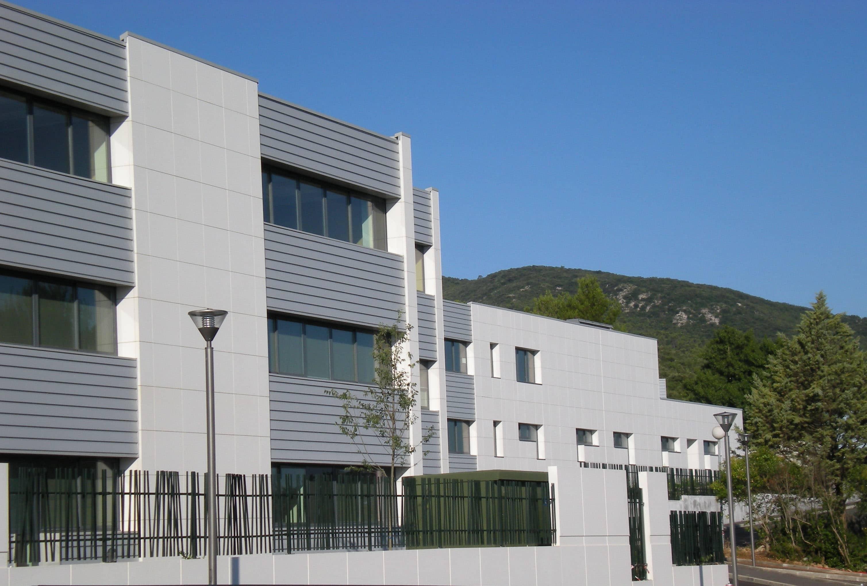 Façade Collège Saint Maximin - AAPL Architecte DPLG VAR