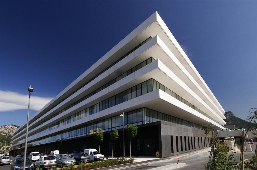 Architecture Hopital Sainte Musse par AAPL architecte DPLG VAR