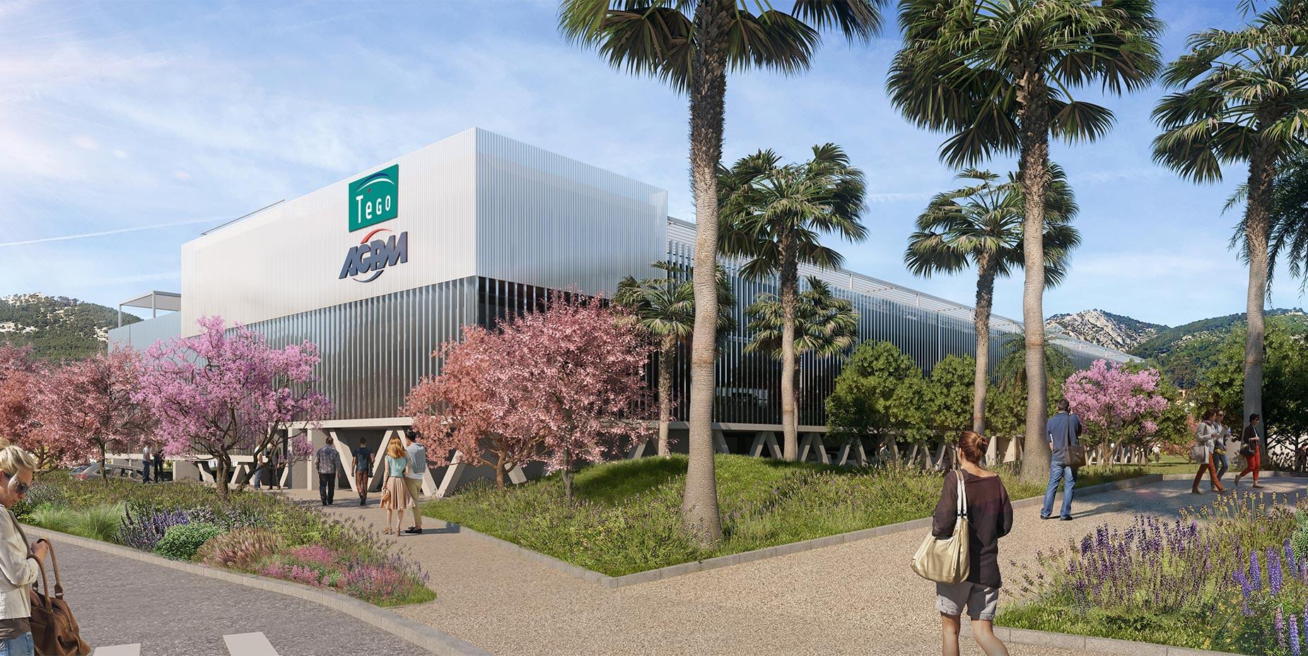 Plan 3D AGPM par AAPL architecte DPLG VAR
