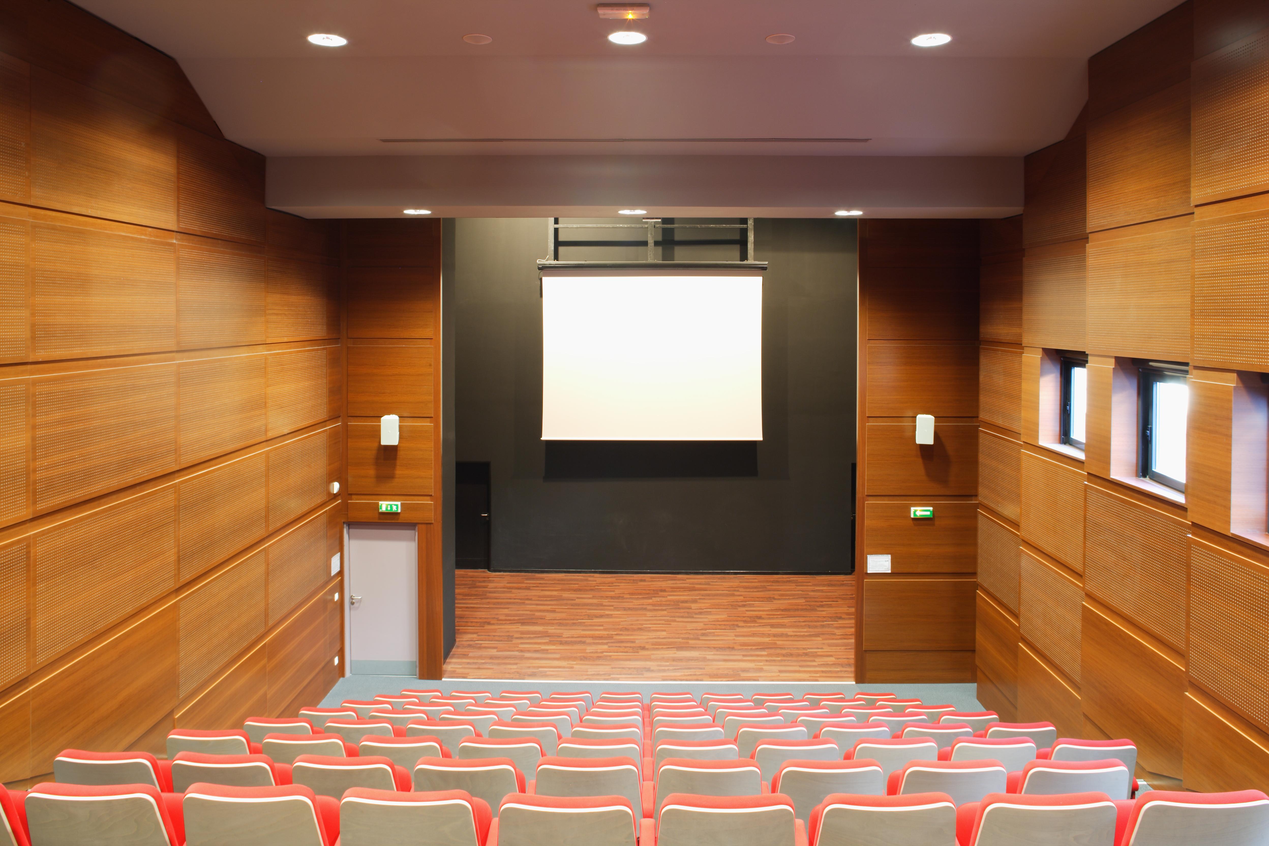 Salle de cinéma du Collège Paul Eluard