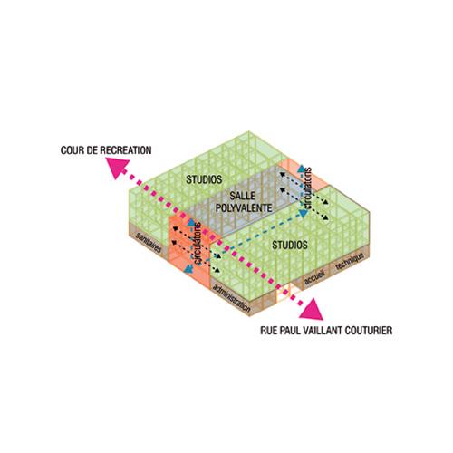 architecture d'une école maternelle