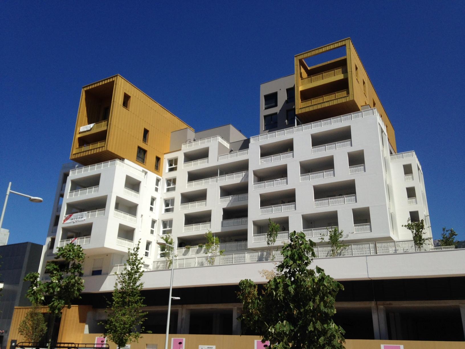 Devanture Logements La Vallete par AAPL architecte DPLG dans le VAR