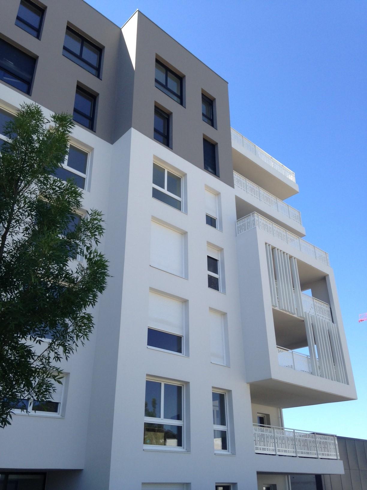 Façade -87 Logements La Valette par AAPL architecte DPLG VAR