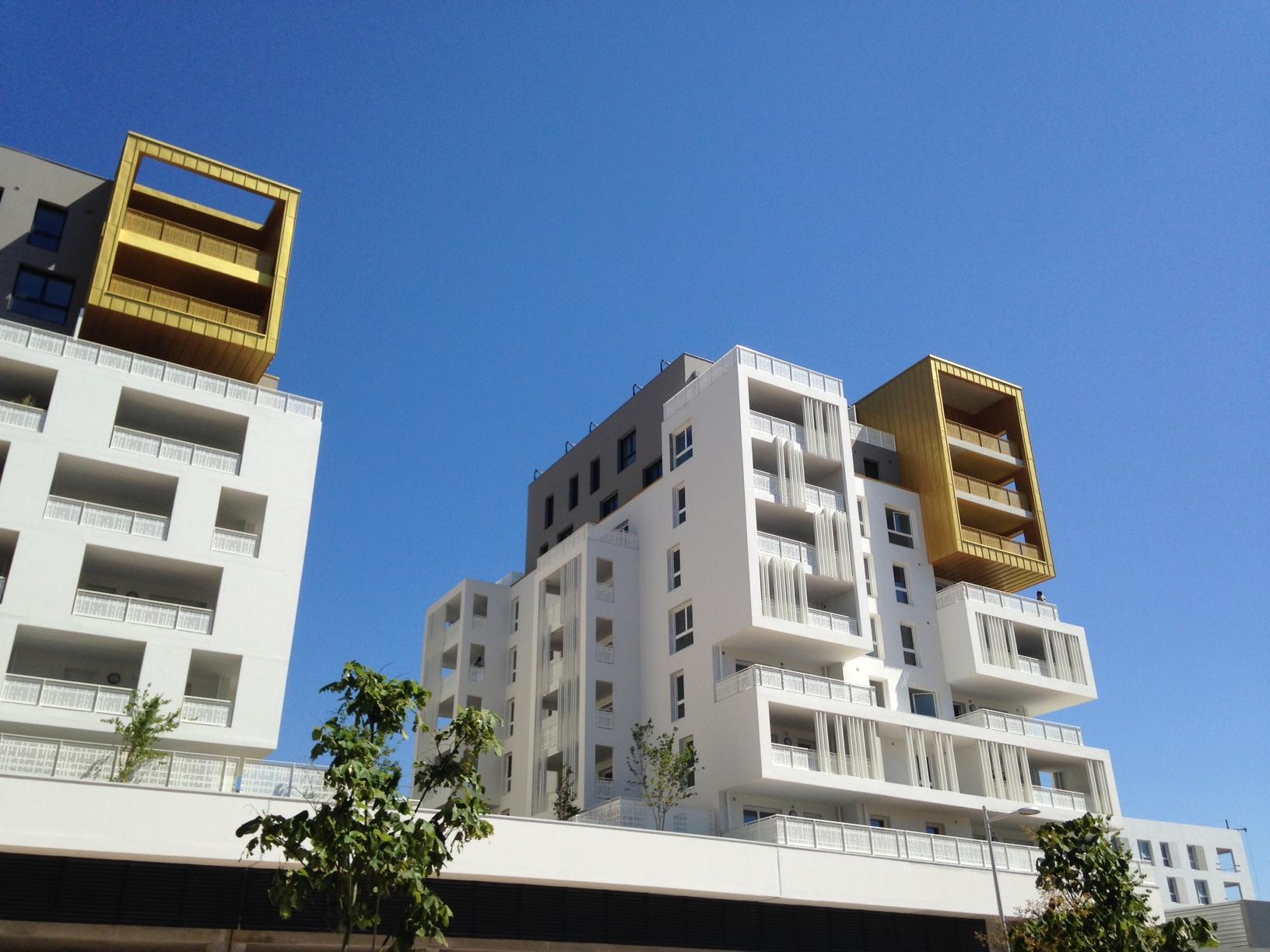 Extérieur 87 Logments La Valette par AAPL architecte DPLG VAR