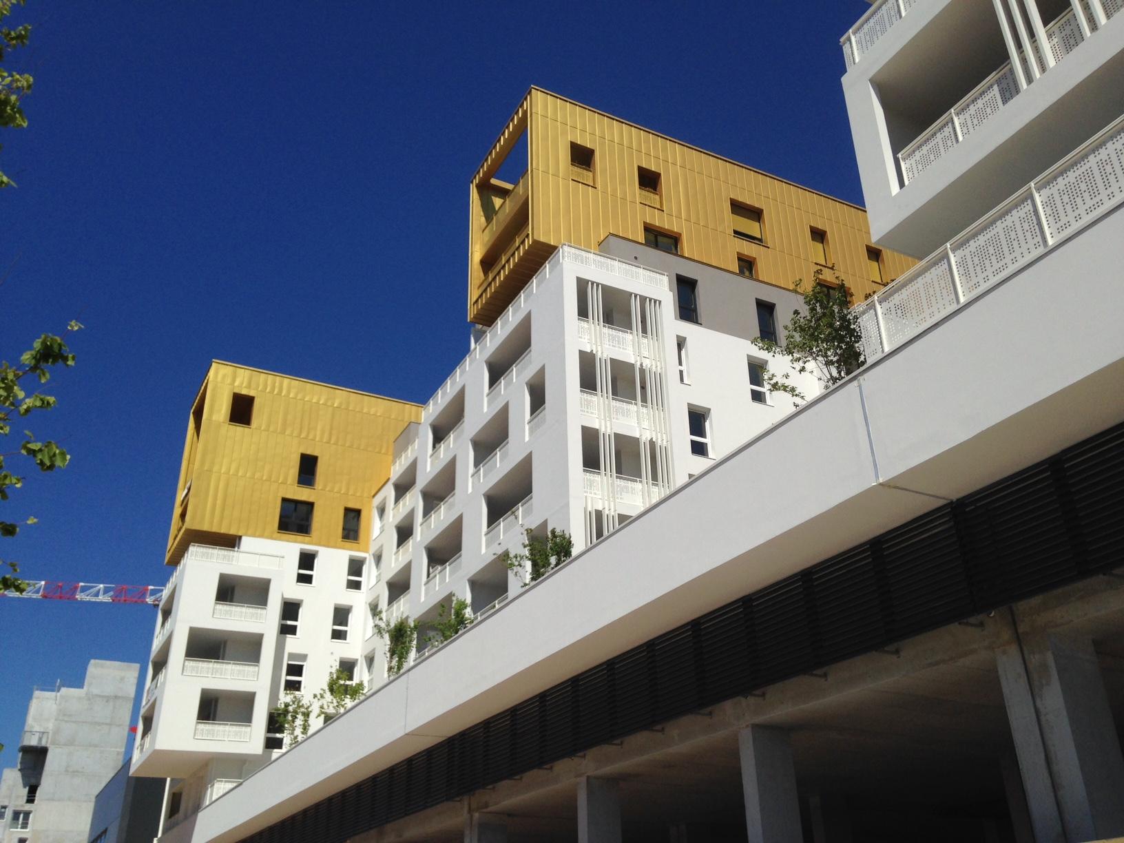 Devanture 87 Logements La Valette par AAPL architecte DPLG VAR
