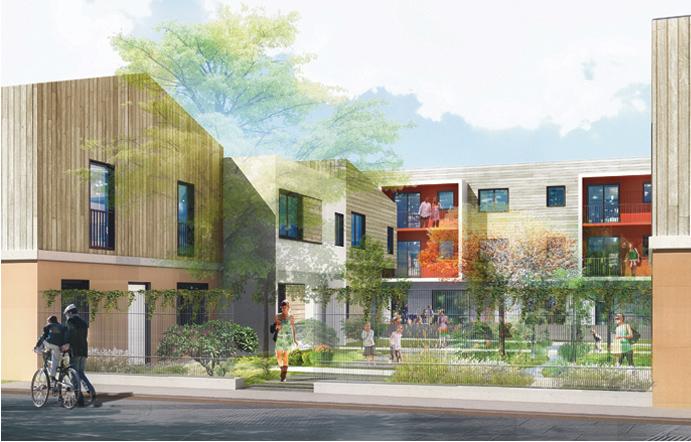 Logement à Goussainville en 3D par AAPL architecte DPLG VAR