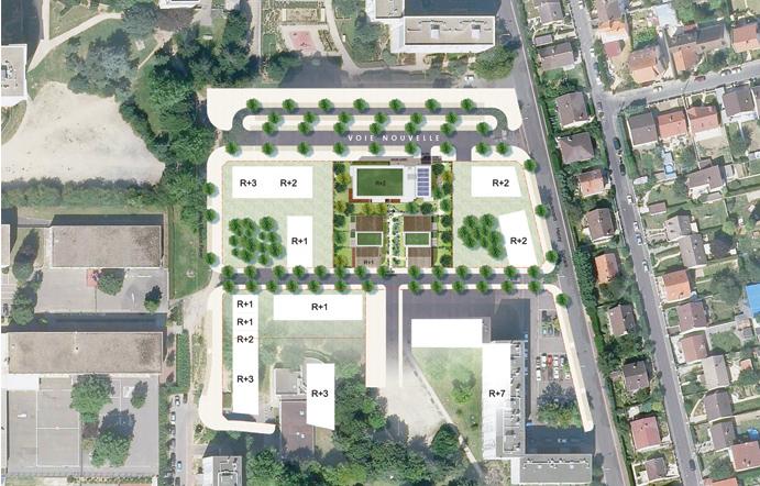 Plan d'urbanisation à Goussainville par AAPL architecte DPLG VAR
