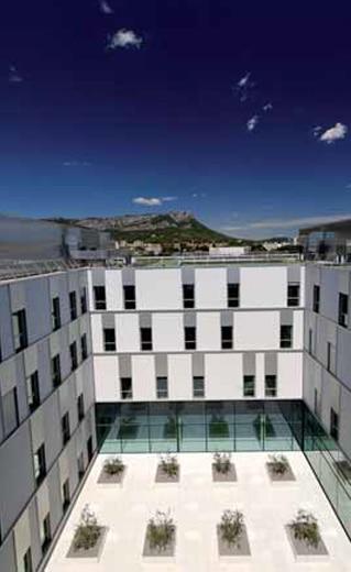 Architecture Hoptial sainte musse à Toulon par AAPL ARCHITECTE DPLG VAR