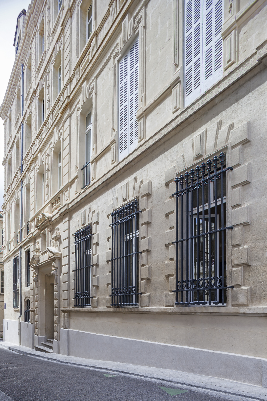 Façade de la banque LCL par AAPL Architecte DPLG VAR