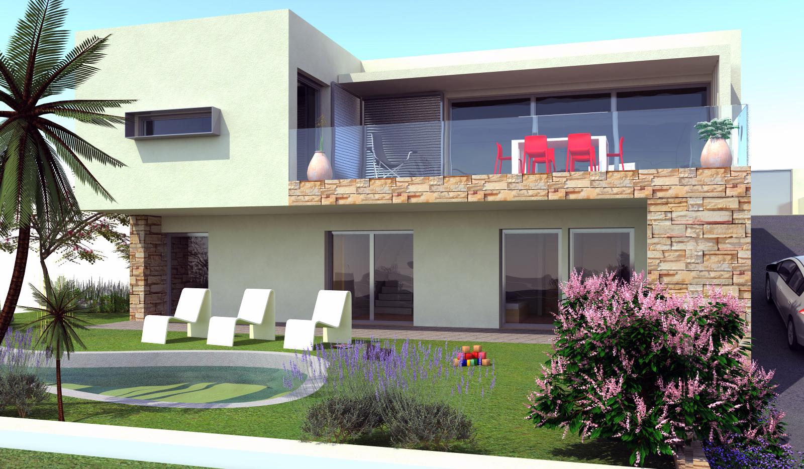 Construction maison neuve et moderne à BANDOL