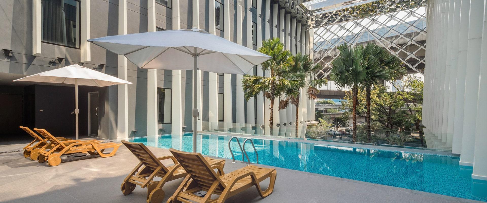 Architect Bangkok Midtown Hotel Plan
