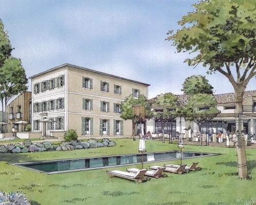 Plan 2D Cantarelle par AAPL architecte DPLG VAR