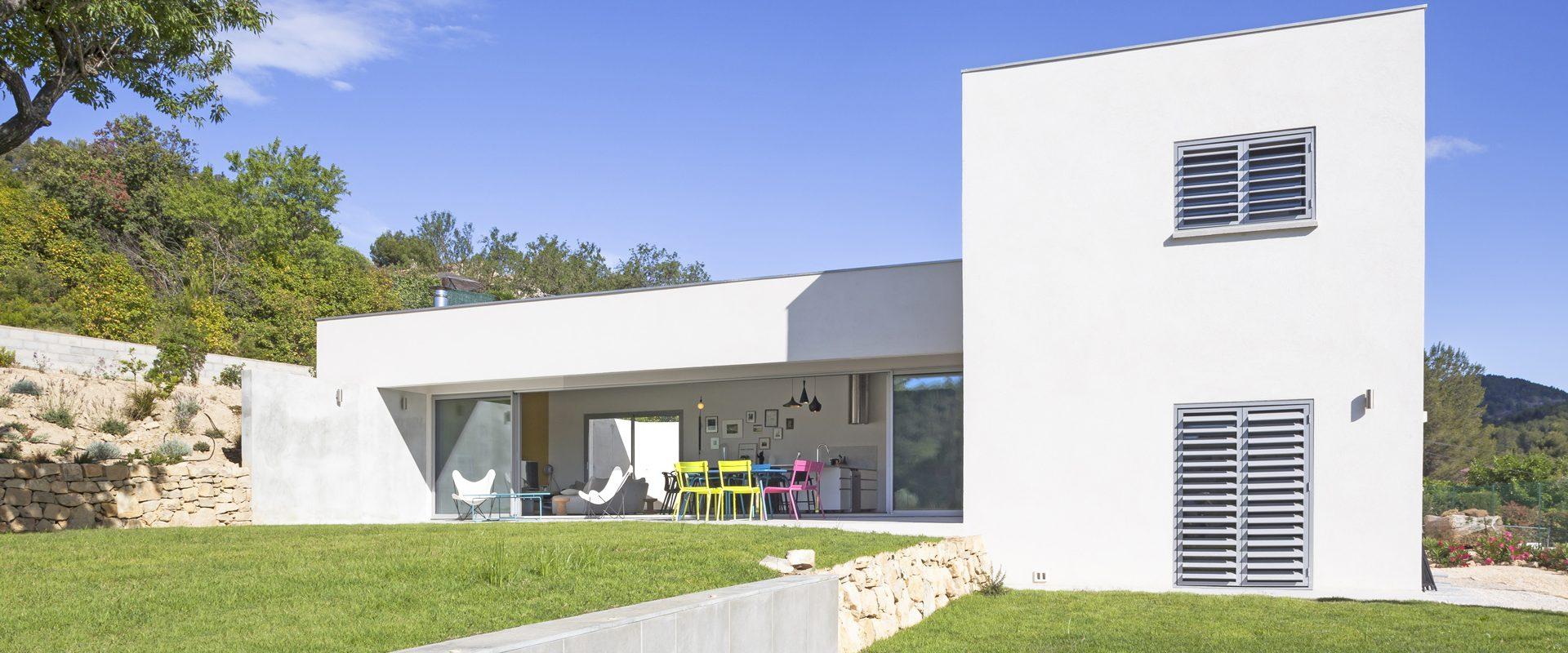 Cabinet D Architecture Aapl Pour Maison Individuelle Dans Le Var