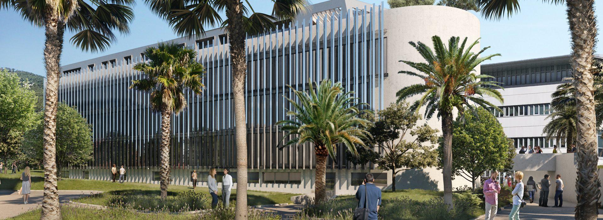 Architecture Siége social AGPM par AAPL architecte DPLG dans VAR